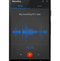 Easy Voice Recorder for Android.