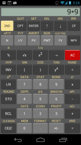 Basic calculator UI
